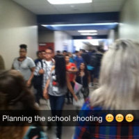 Teen uses Snapchat to Threaten School Shooting